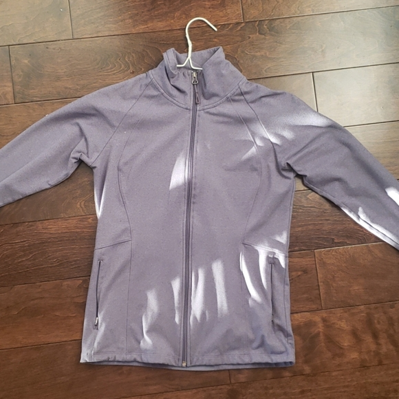lilac ellen tracy active zip up